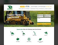 Website Design - Express Mow