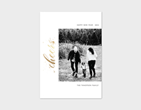 New Year Photo Card Template - Cheers