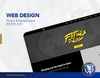 Web Design - Plastic Entertainment