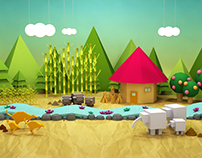 EcoPaper Island _Education Web site