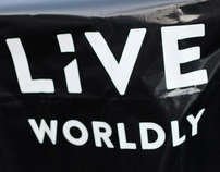 Print layout and design - Live Worldly