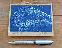 Sun Notes Cyanotype Cards