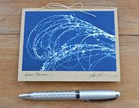 Sun Notes Cyanotype Cards