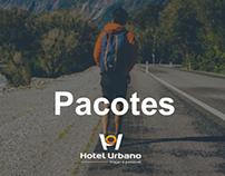 Conceito da nova página de pacotes - Hotel Urbano