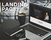 "Metaphorical cards ""ORACLE TG"" - Landing Page Design"