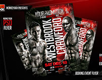 Boxing Event Flyer