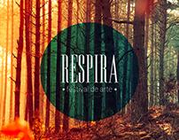 Diseño Editorial Festival Respira
