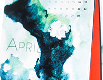 "Water & Colors Calendar 2016 ""Earth"""