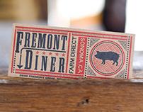 Fremont Diner Branding