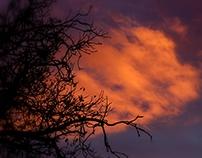 Burning sky (October)