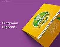 Gigante Protisa | Logo e Infografía