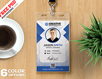 Office Identity Card Design PSD Bundle