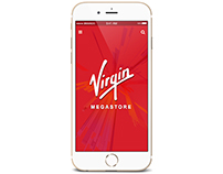 Virgin Megastore App - UAE Launch