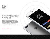 WODROB Mobile App UI UX
