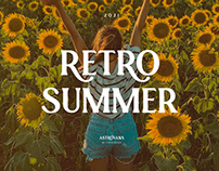 Astrovans - Beauty Summer Vintage Retro Serif Font
