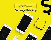 AZNXChange App Design