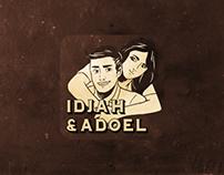 Idjah & Adoel Line Sticker