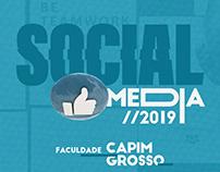 Social Media - Faculdade Capim Grosso