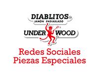 Diablitos Underwood Redes Sociales