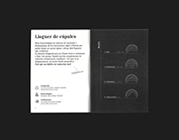 Esfèric Catalogue and Business Cards