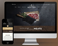 The Meatery Website Design & Development