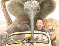 Crazy Ride - Photoshop Creative Cover