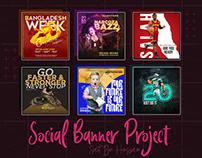 Social Media Banner Project || 2020