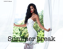 """Summer break"" for Ellements magazine"