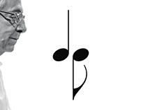 Logotipo: compositor de música Dante Grela