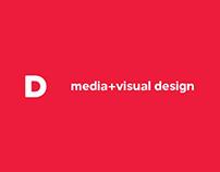 Web design Media+Visual Design