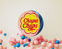 Chupa Chups - Cinema 4D