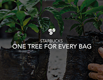 Starbucks One Tree for Every Bag Digital Campaign