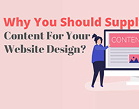 Why You Should Supply Content For Your Website Design?