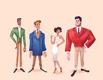 The Great Gatsby Visual Development