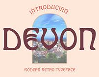 Devon Typeface