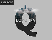 Domotika - 18 weights free fonts family