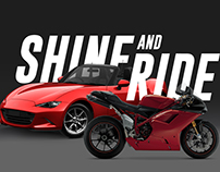 SHINE and RIDE Website