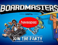 Facebook app for HAVAIANAS Boardmasters