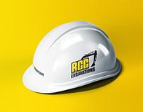 RCC Excavations Logo Design