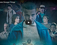 Speed Art Pôster Stranger Things