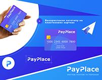 Logo Design PAY PLACE