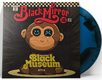 Netflix's Black Mirror | Black Museum 2xLP Soundtrack