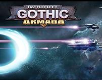 """""""BATTLEFLEET GOTHIC ARMA"""" Game UI"""