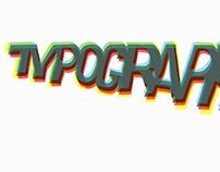 Typography Text