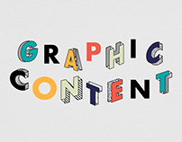 """Graphic Content"" typography"