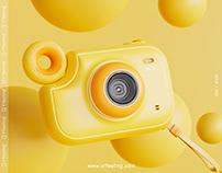 Milo-儿童相机设计