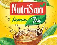 NutriSari Lemon Tea Packaging