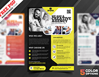 Multipurpose Corporate Flyer Free PSD Set