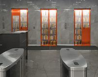 Оформление лифтов для компании ТМК