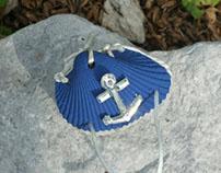 Seashell Engagement Ring Box